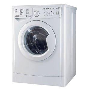 Masina de spalat rufe slim Indesit IWSC 61051 CECO EU, 6 kg, 1000 rpm, Clasa A+, Alb reducere Emag