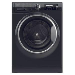 Masina de spalat rufe Hotpoint NLCD 946 BS A EU, 9 kg, 1400 RPM, Clasa A+++, Sistem Active Care, Sistem Stop&Add, Sistem igienizare aburi, Negru reducere Emag