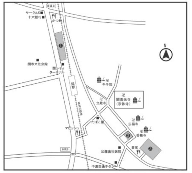 関善光寺初詣駐車場の参考画像