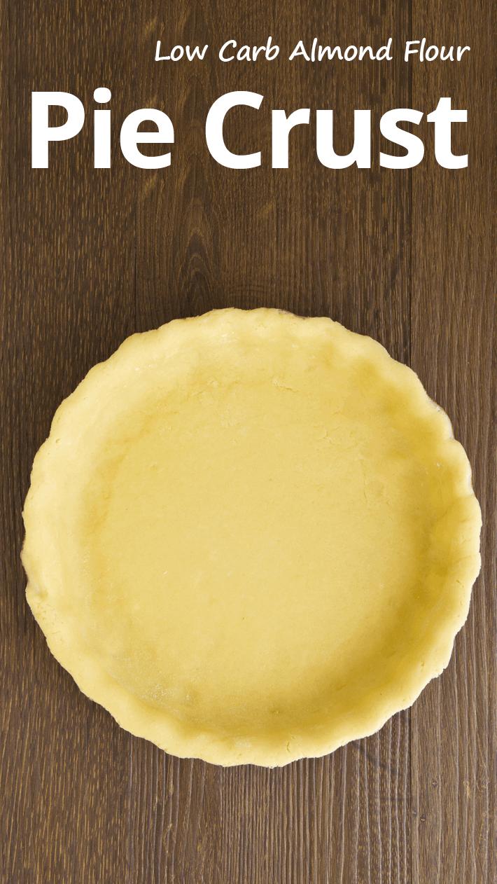 Low Carb Almond Flour Pie Crust