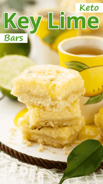 Keto Key Lime Bars