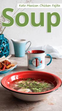 Instant Pot Mexican Chicken Fajita Soup
