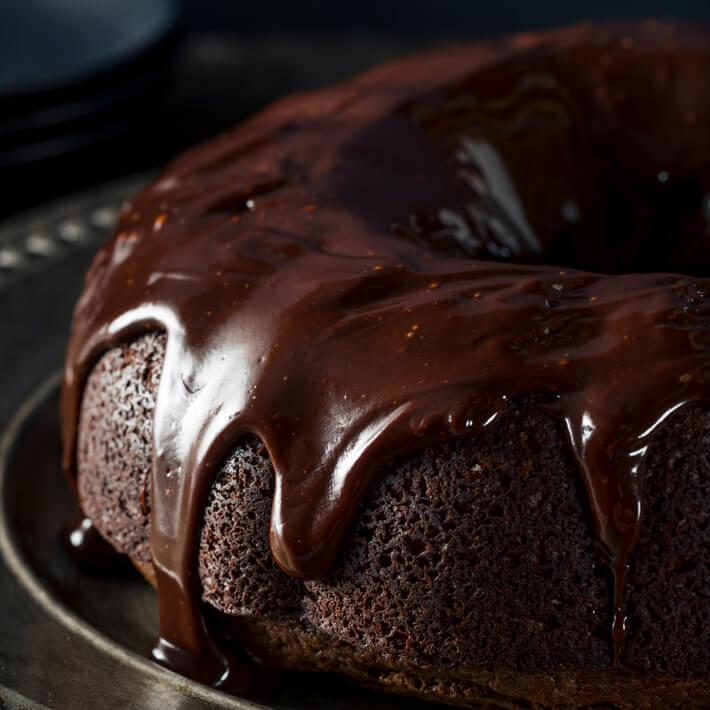 Low Carb Chocolate Bundt Cake