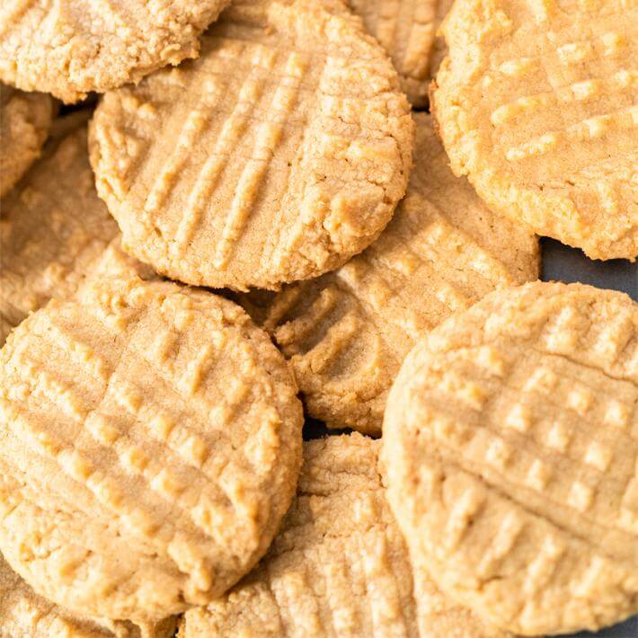 Low Carb Peanut Butter Cookies