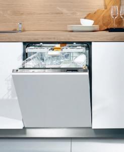 Do-It-All Dishwasher: Miele Lumen Knock2Open G6595