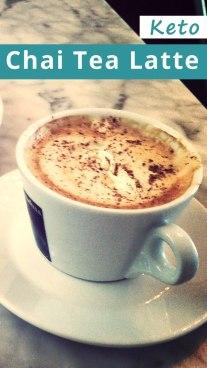 Keto Chai Tea Latte