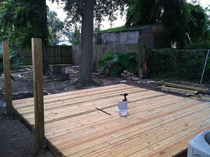 DIY - Backyard Deck