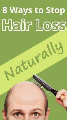 8 Ways to Stop Hair Loss Naturally