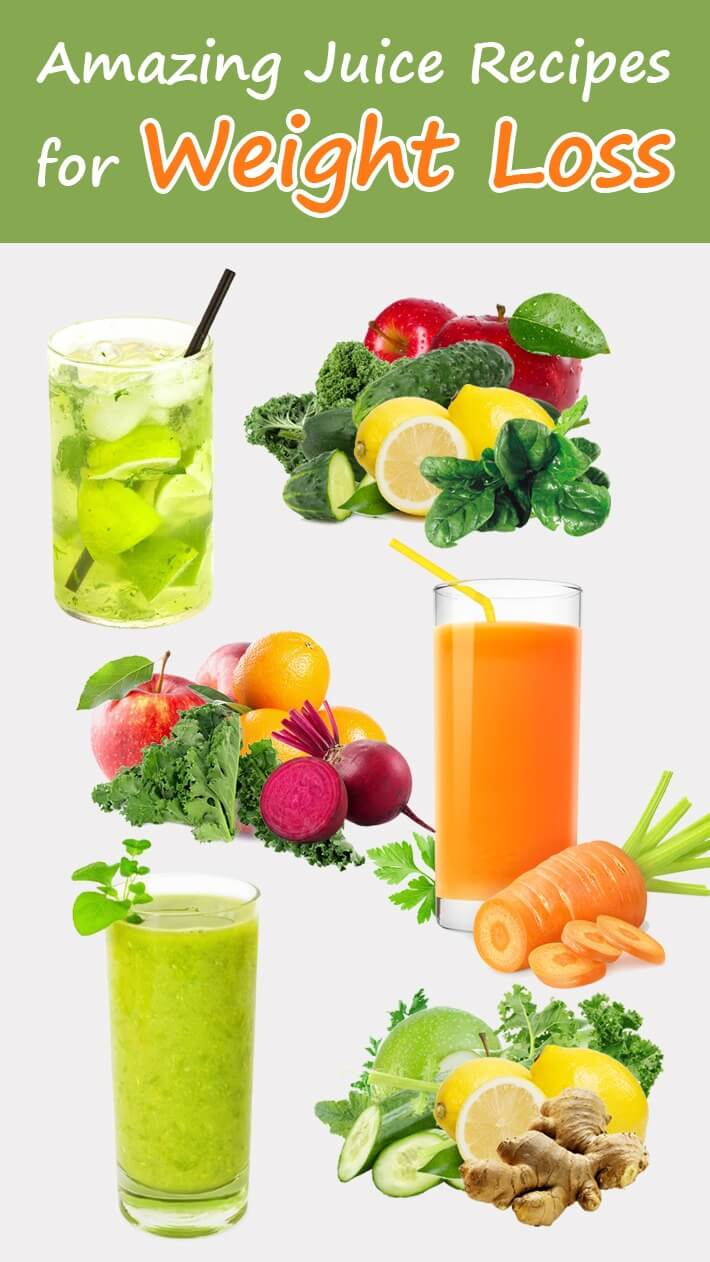 Amazing Juice Recipes for Weight Loss