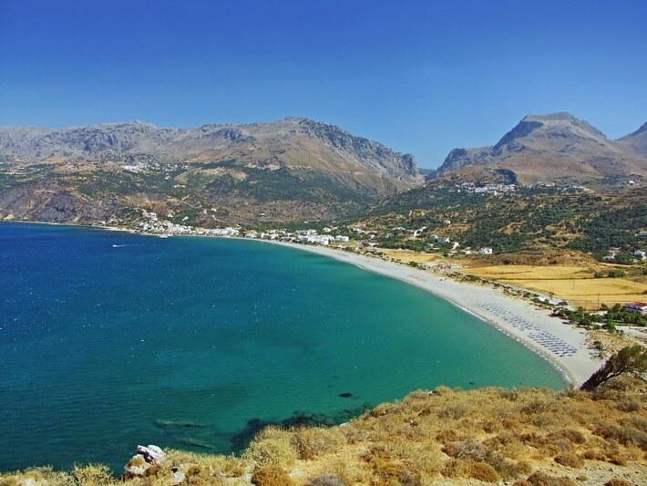Plakias, Crète