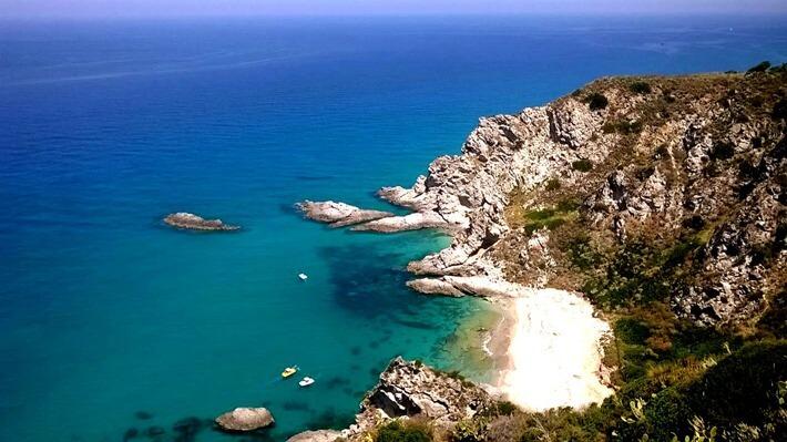 Priaia del Fuoco Beach, Italy