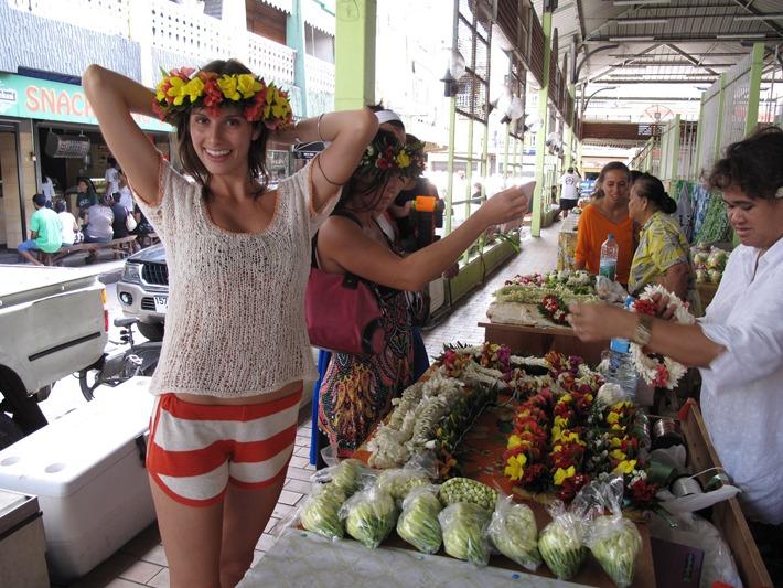 The Papeete Market