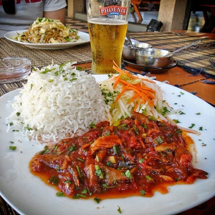 The local cuisine