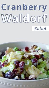 Cranberry Waldorf
