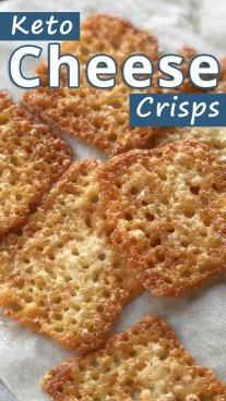 Keto Cheese Crisps