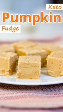 Keto Pumpkin Fudge