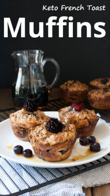 Keto French Toast Muffins