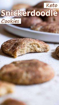 Keto Snickerdoodle Cookies