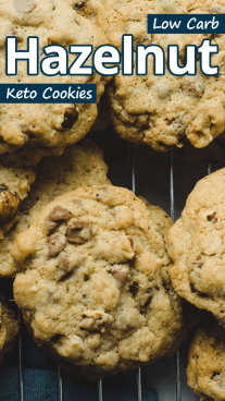 Low Carb Hazelnut Keto Cookies