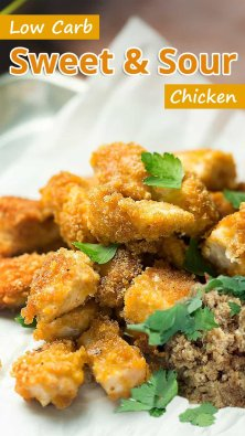 Low Carb Sweet & Sour Chicken