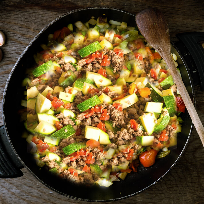 Low Carb Mexican Zucchini and Ground Beef Skillet 2