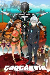 Gargantia on the Verduous Planet anime