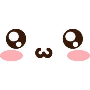 anime cat face