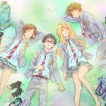 your lie in april anime