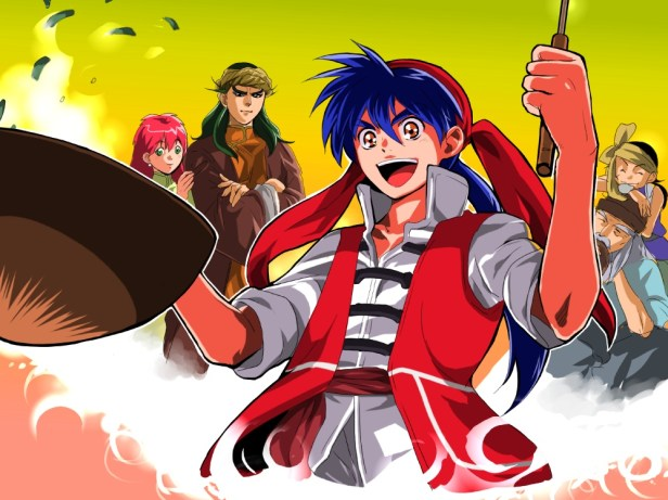 cooking master boy anime