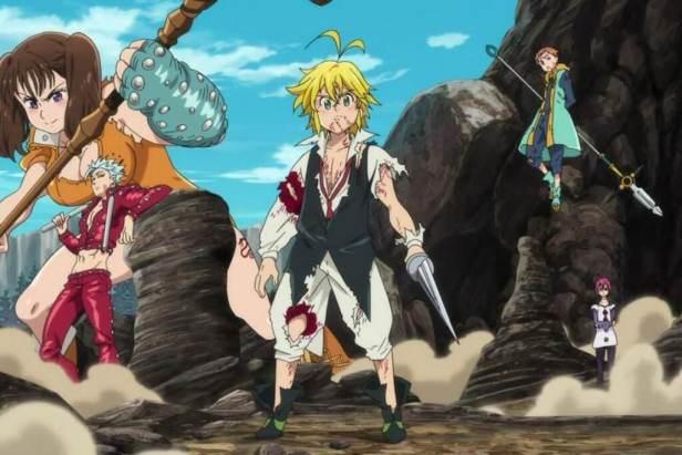 seven deadly sins anime