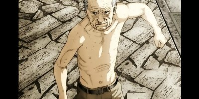 badass old men in anime