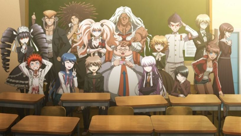 [7 Animes Indispensáveis] - Video Games - Era Moderna Parte 1 Danganronpa-anime