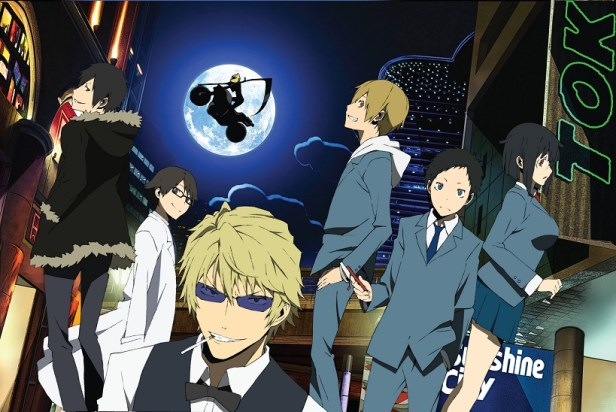 Durarara light novel