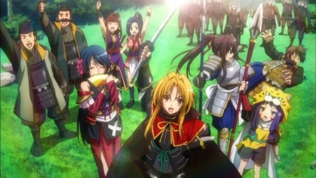 The Ambition of Oda Nobuna anime