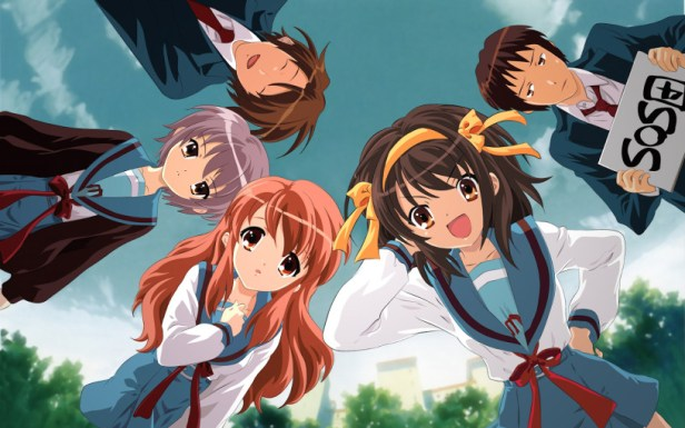 The Melancholy of Haruhi Suzumiya light novel