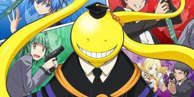 anime series like assassination classroom