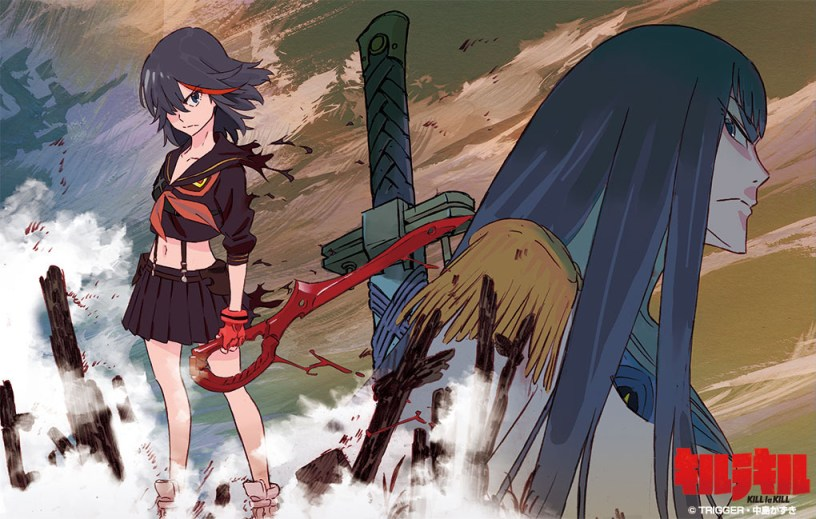 anime series like kill la kill