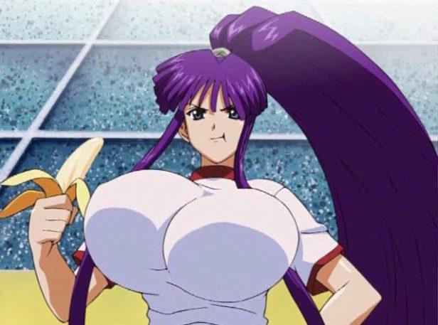 kirika anime boobs