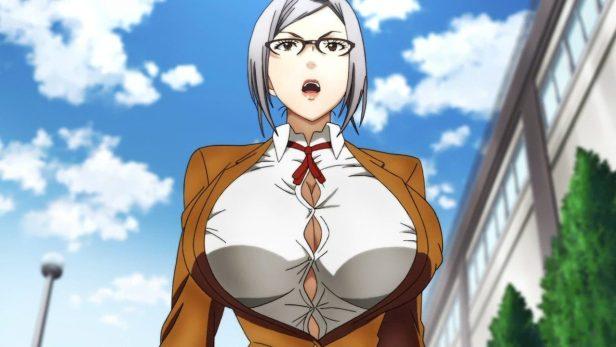 meiko shiraki anime boobs