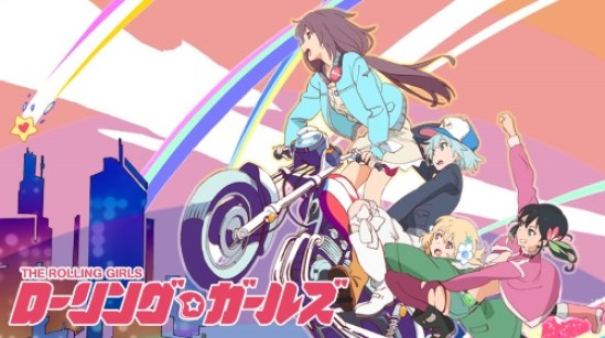 rolling girls anime
