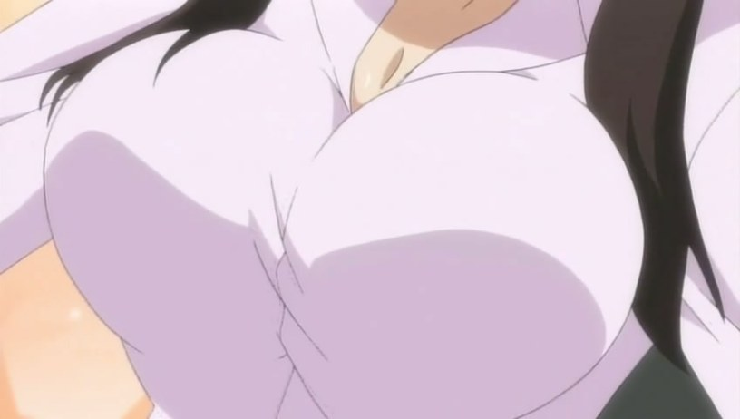 the biggest anime boobs