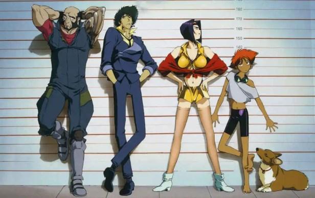 anime series like cowboy bebop