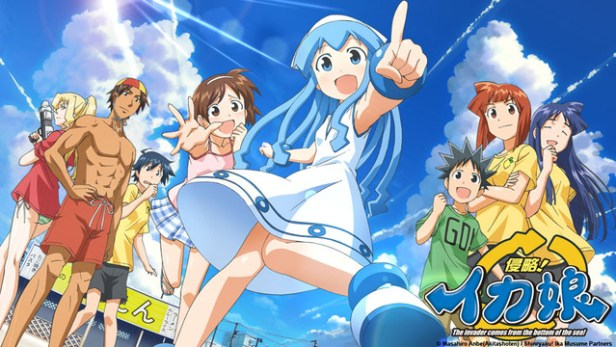squid girl anime