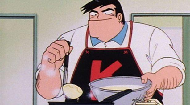 Cooking Papa anime