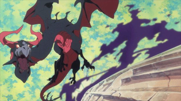Labyrinth Dragon from Little Witch Academia