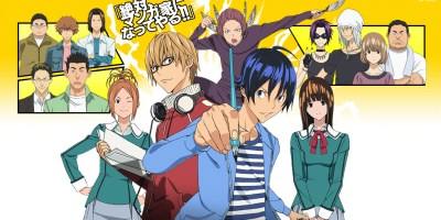 anime series like bakuman