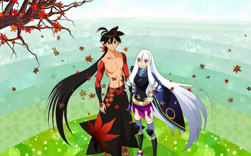 anime series like katanagatari