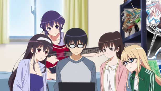 anime series like saekano