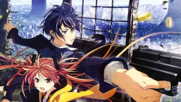 black bullet anime