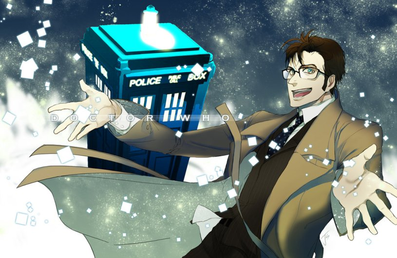 doctor who anime fanart